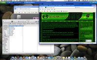 OS X Desktop Screenshot